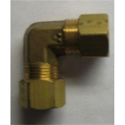 UNION ELBOW CONNECTOR BRASS  3 / 8TX3 / 8T