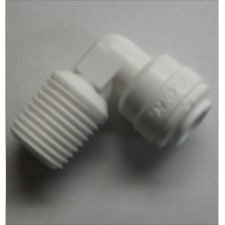DM CONNECTOR MALE ELBOW 1 / 4T X 1 / 4NPT