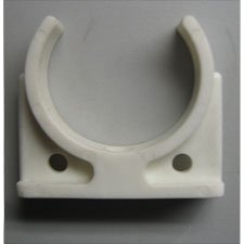 CLIP BASE WHITE FOR MEMBRANE 2.5""