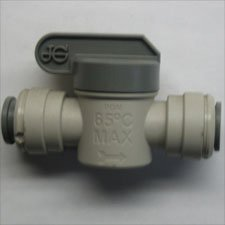 JG BALL VALVE STRAIGTH 1 / 2 QUICK CONNECT