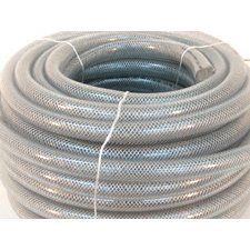 HOSE BREADED CLEAR 3 / 4 ID 100FT