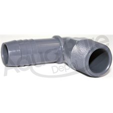DRAIN CONNECTOR  MALE ELBOW 3 / 4 BARB X 3 / 4NPT