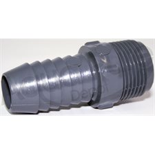 DRAIN CONNECTOR MALE STRAIGHT 3 / 4 BARB X 3 / 4NPT