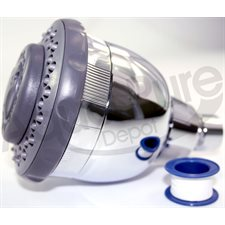 SHOWER FILTER  WITH KDF-55 / KDF-85