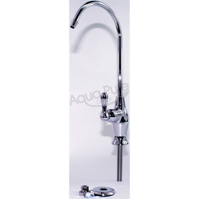 FAUCET  LONG REACH   QUATER TURN CERAMIC  CHROME PLATED