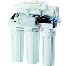 REVERSE OSMOSIS 5 STAGES-100GPD- PUMP-AUTO FLUSH-SOLENOID