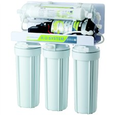 REVERSE OSMOSIS 5 STAGES- 50GPD-BOOSTER PUMP-LEAK STOP